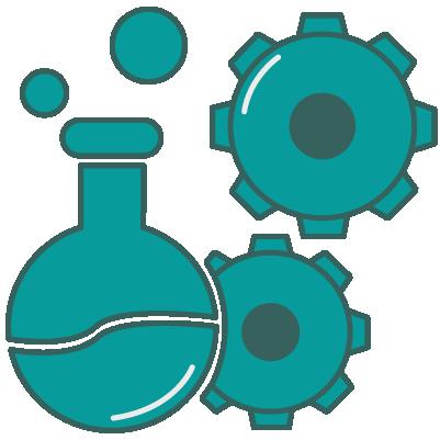 testing lab icon