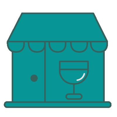 liquor store icon