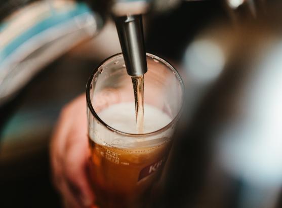beer from keg