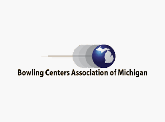 Bowling Centers Association of Michigan logo