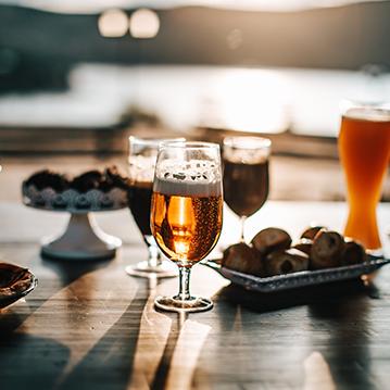 happy hour beers